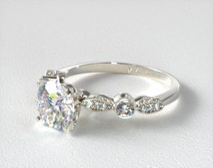 Vintage engagement ring  Vintage Engagement Rings | JamesAllen.com
