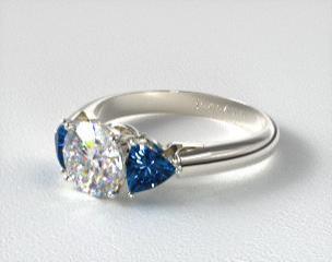 ThreeStone Engagement Rings JamesAllencom