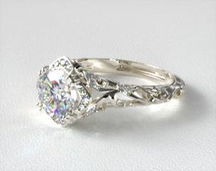 Vintage engagement rings jamesallen junglespirit Image collections