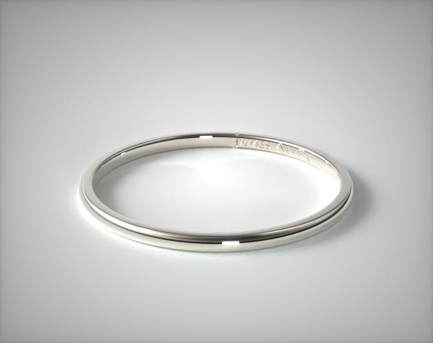 15mm Comfort Fit Wedding Ring