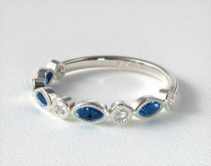 017a3cdd6e0ce Women's Stackable Diamond and Gemstone Wedding Rings   JamesAllen.com