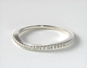 eaf0ccd5f582e 14K White Gold Matching Wedding Ring