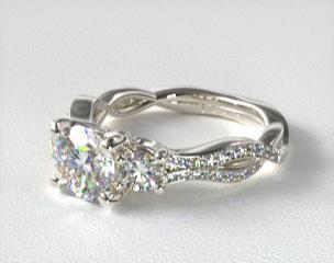 3 ring diamond ring