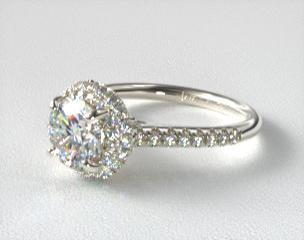Halo Engagement Rings JamesAllencom