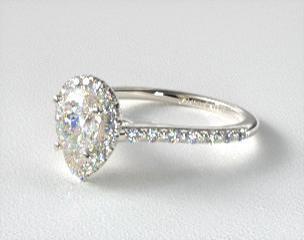 details - Teardrop Wedding Ring