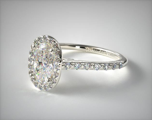 Engagement Ring Pave Or Plain