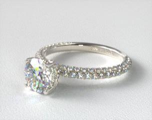 Pavé Engagement Rings | JamesAllen com