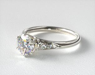 SideStone Engagement Rings JamesAllencom