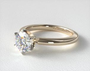 yellow gold engagement rings jamesallencom - Wedding Rings Yellow Gold