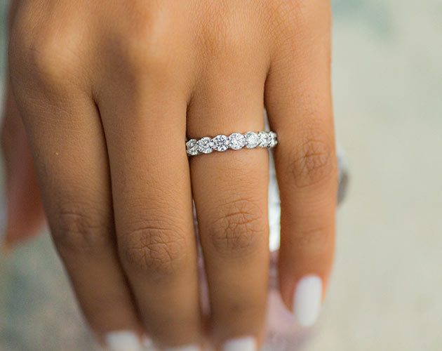 Diamond Anniversary Rings | JamesAllen com