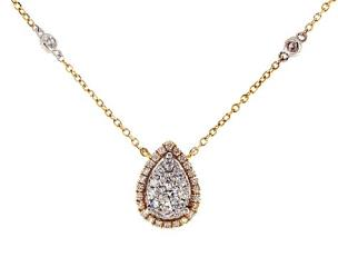 which is true of the setting of the necklace