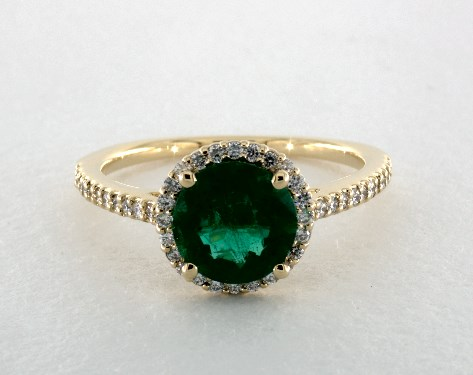 Emerald Engagement Rings Jamesallen Com
