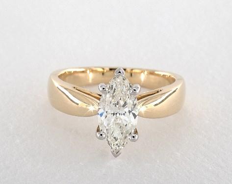 Marquise Cut Engagement Rings Jamesallen Com