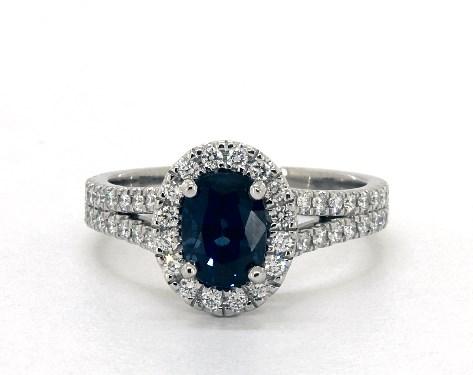 Blue Sapphire Engagement Rings   JamesAllen.com - photo #14