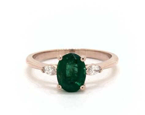 3 Ct Oval Cut Green Emerald Diamond Halo Women Wedding Ring 14K Yellow Gold Over