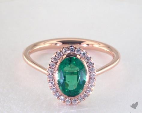 Emerald Unique cut rings photos