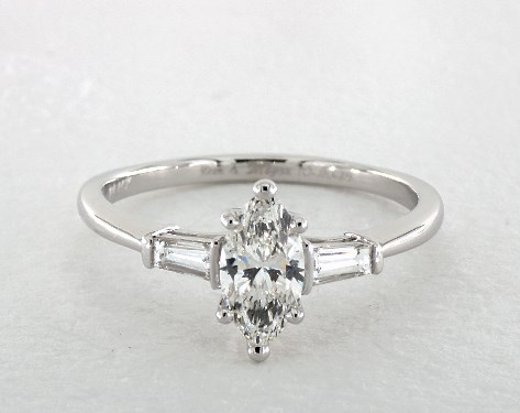 Marquise Cut Engagement Rings Jamesallen Com Mobile