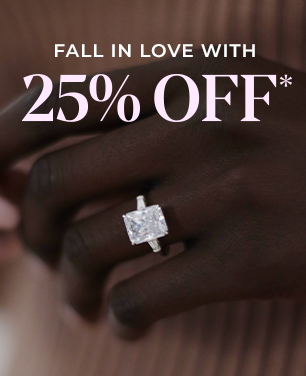 25% off engagement ring setting*