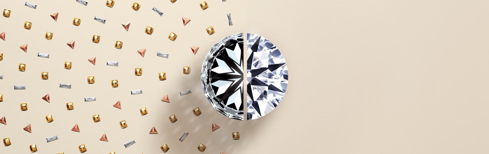 True Hearts perfectly symmetrical diamond