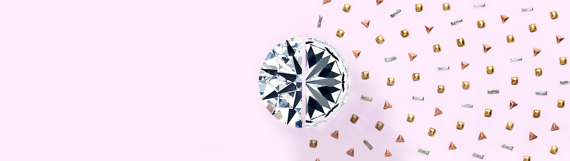 True Hearts, perfectly symmetrical diamond.