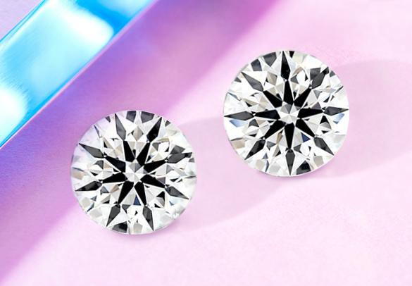 True Hearts lab-created diamonds in round cut