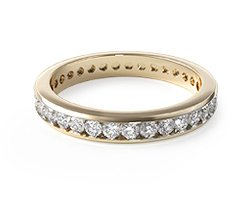 Channel-Set Eternity Ring