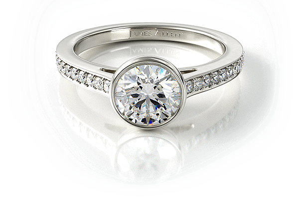 Shop Engagement Rings and Loose Diamonds Online JamesAllencom