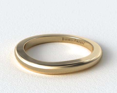 14K Yellow Gold Matching Wedding Ring