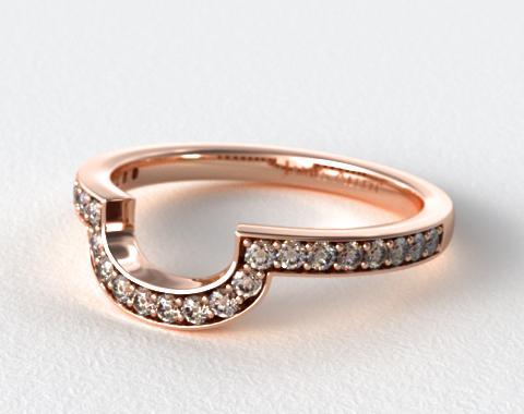 14K Rose Gold Matching Wedding Ring
