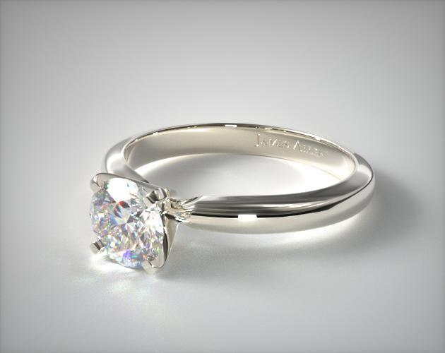 Platinum 2.5mm Comfort Fit Solitaire Engagement Ring