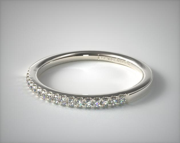 ring sterling line platinum band stamped nscd paved jewelry synthetic bridal women silver for bands item diamond luxury