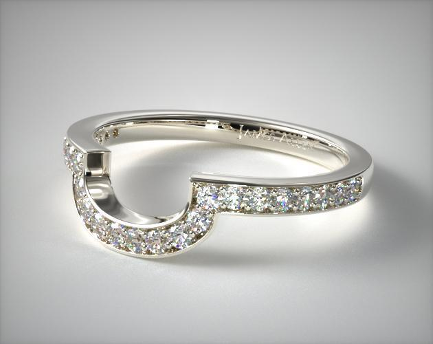 matching wedding ring 14k white gold allen