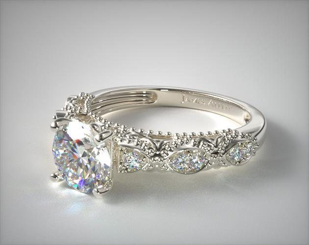 Vintage Engagement Rings JamesAllencom