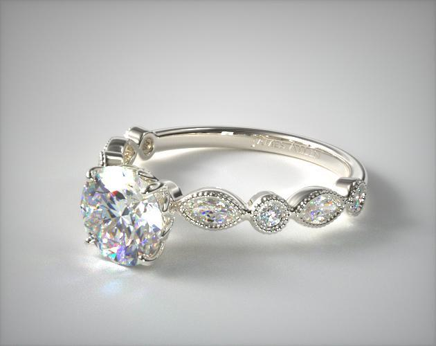 diamond i rings engagement cut stones round ct novo prong w with set side t off sidestones solitaire tw ring