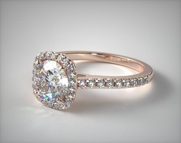 Rose Gold Engagement Rings JamesAllencom