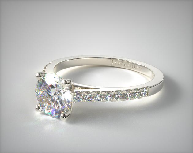 893c7136c Pavé Engagement Rings
