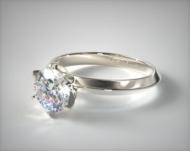Platinum Presentation Solitaire (Six Prong)