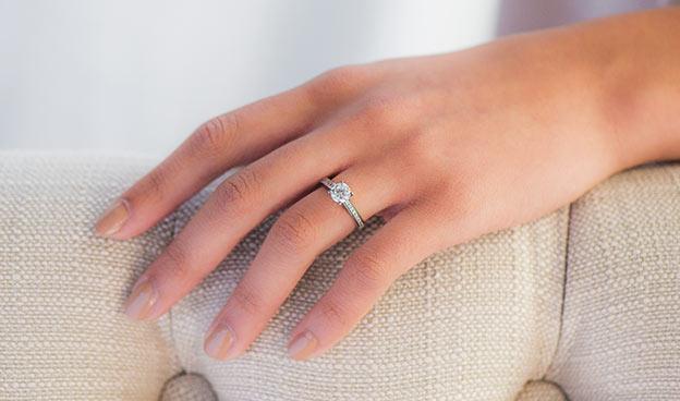Princess Channel Set Ring