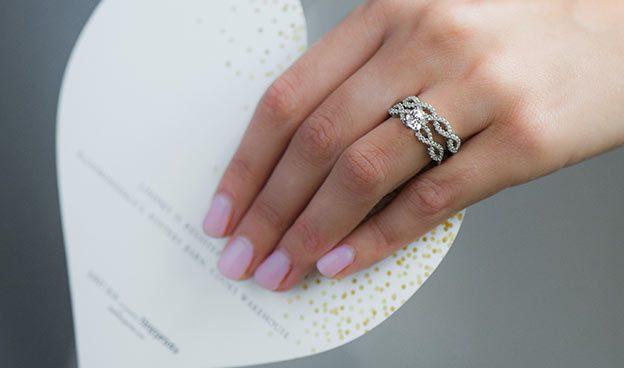 Pave Infinity Diamond