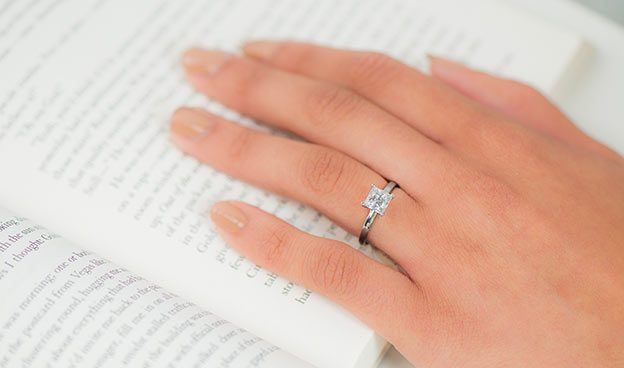 2mm Comfort Fit Solitaire