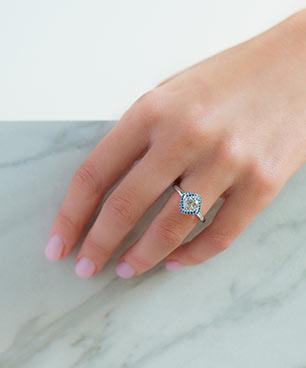 Vintage Engagement Rings JamesAllencom