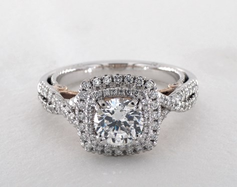 Engagement Verragio rings: the insignia collection fotos