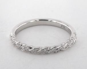 Platinum Luna Wedding Band