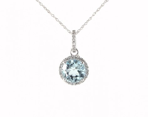 swarovski pealrich aquamarine gold valentines silver day white mothers aqua for teardrop plated pendant necklace dp gift women marine made