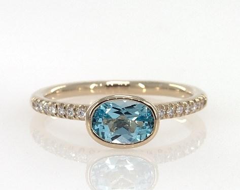 Yellow Gold Diamond Ring Settings