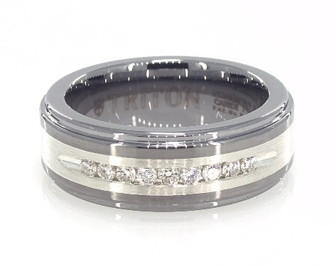 10 Athena Jewelry Tungsten Collection 8MM Mens Tungsten Carbide Wedding Band Ring Size Selectable