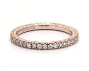14K Rose Gold Tradition Wedding Band by Verragio