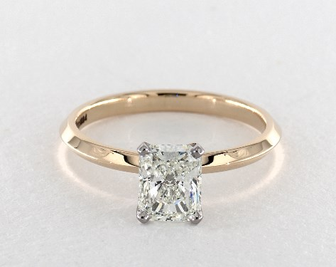 14K Yellow Gold Solitaire Setting