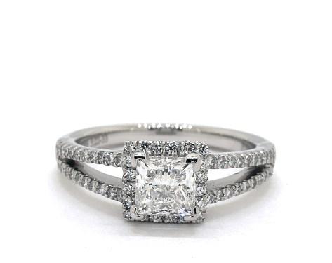 Princess Cut Engagement Rings Jamesallen