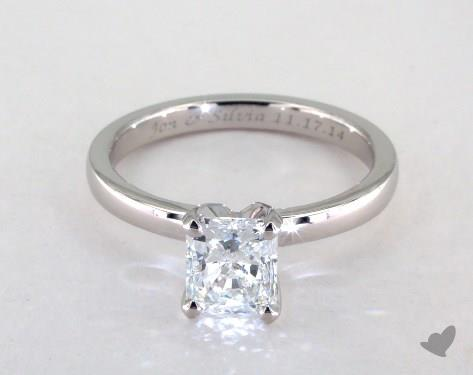 535ed722cca7 Radiant Cut Diamond Engagement Rings